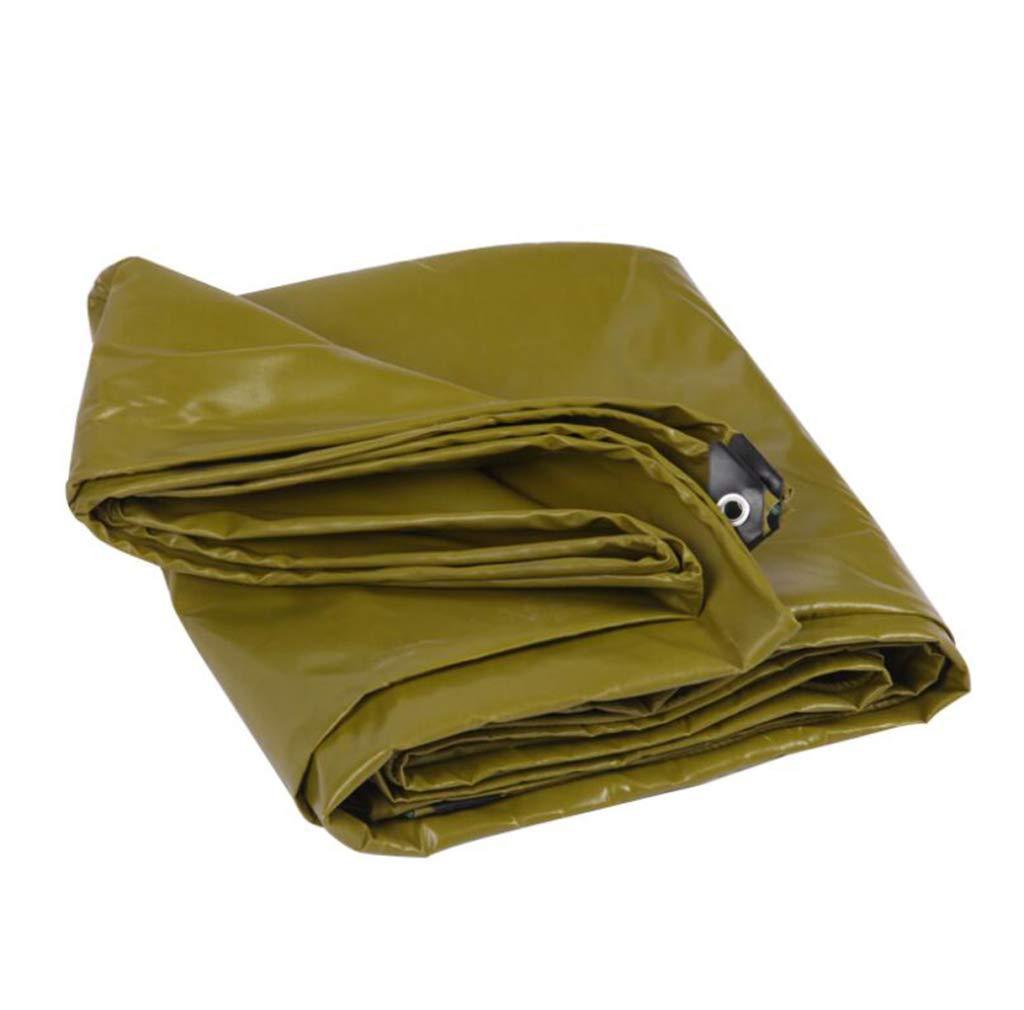HSBAIS 頑丈な防水ターポリン、アーステントトレーラーカバー引き裂き抵抗性、耐酸性および耐アルカリ性,green_3x3m B07P65V76J green 3x3m