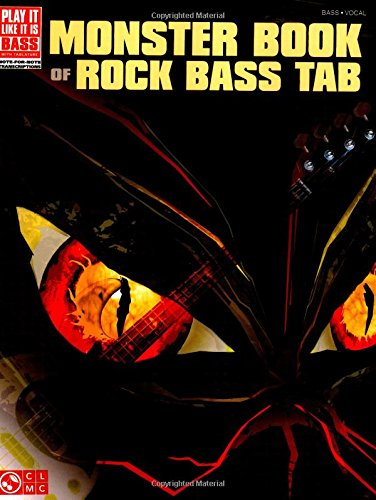 Monster Book of Rock Bass Tab (Play It Like It Is ()