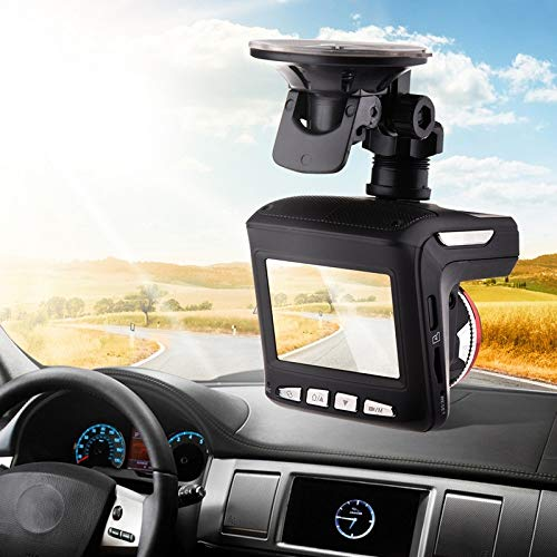 - Full HD Car DVR Camera Dashcam Built-in GPS Antenna Car Radar Detector with Bracket 140 Degrees Auto Driving Recorder Camera