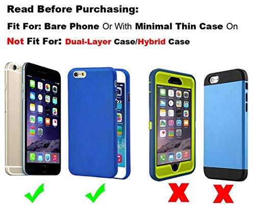 iPhone 6s Plus Holster Case, Gcepls iPhone 7 Plus Premium Leather Holster Belt Case with Clip / Loops Belt Pouch Holder Cover with Built in Card Slot for iPhone 6 Plus 7 Plus 8 Plus by Gcepls (Image #1)