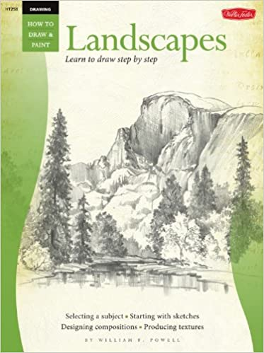 Gratis e-bøger download pdf format Drawing: Landscapes with William F. Powell: Learn to paint step by step (How to Draw & Paint) 1560101571 PDF iBook