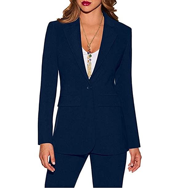 Amazon.com: TOPG Women Business Suits 2 Piece Jacket and ...