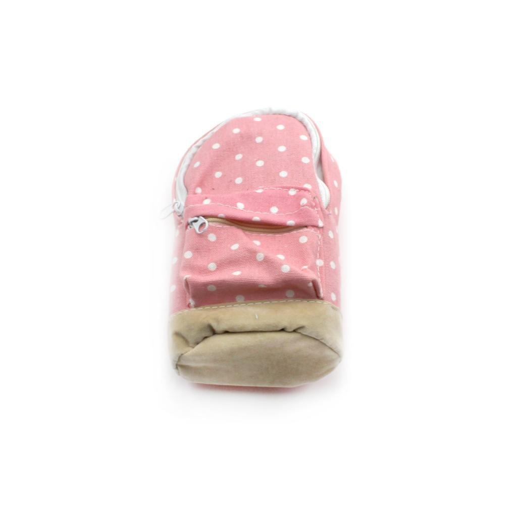 HuaYang Mini Backpack Style Pencil Stationery Case Polka Dots Phone Coins Pen Storage Bag Organizer Pouch(Pink)