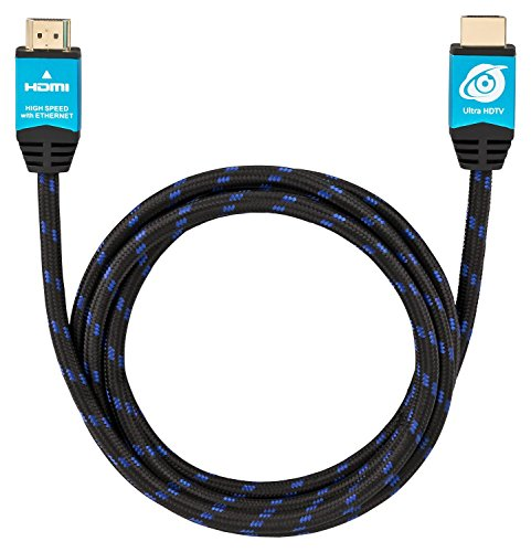 Ultra HDTV Premium 4K HDMI Kabel 2 Meter | HDMI 2.0b, UHD bei vollen 60Hz (keine Ruckler), HDR, 3D