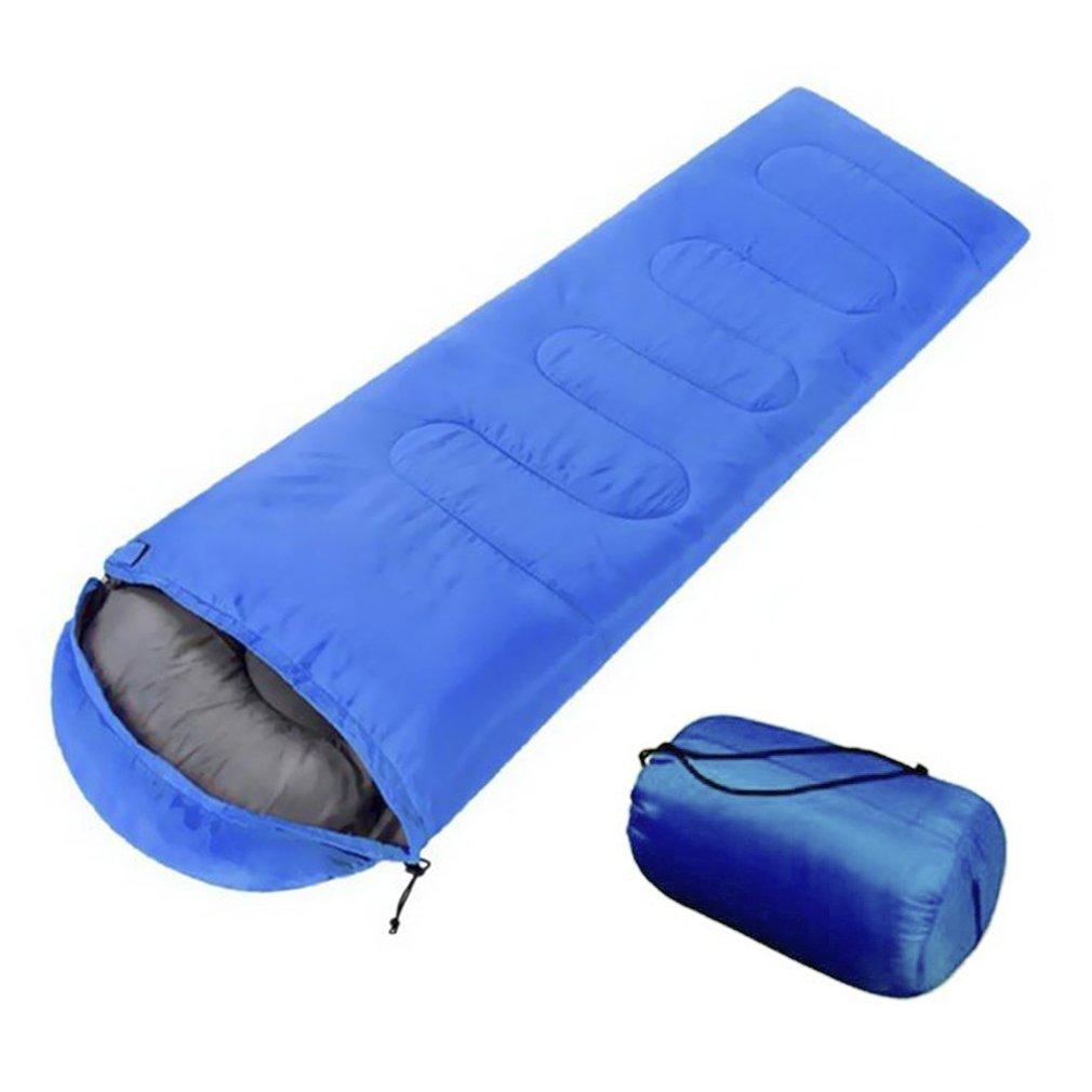 OUTAD saco de dormir cálido, cómodo y transpirable, ideal para acampada, senderismo y al aire libre, bolsa de dormir portátil cama de playa: Amazon.es: ...