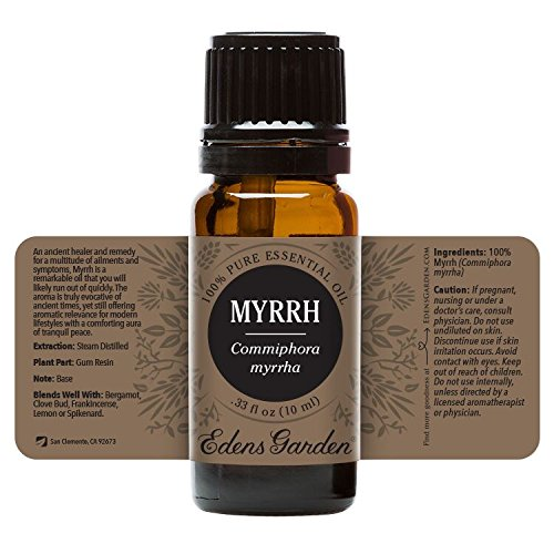 Edens Garden Myrrh 10 ml 100% Pure Undiluted Therapeutic Grade Essential Oil GC/MS Tested - incensecentral.us