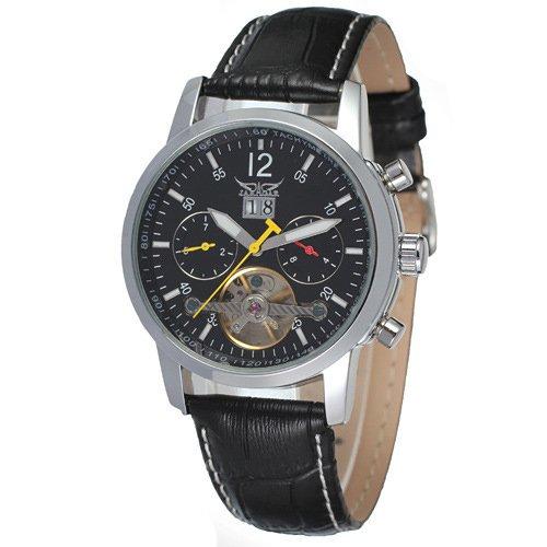 HWCOO JARGAR 1541 Moda para hombres Ocio Tourbillon Reloj automático completo al por mayor (Color