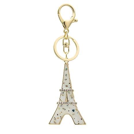 AZXCyJ Llavero De Diamantes De Imitación Creativos De París ...