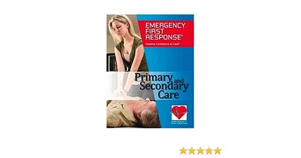 amazon com padi emergency first response efr primary and rh amazon com Emergency Response Manual Back Cover Emergency Response Manual of Color