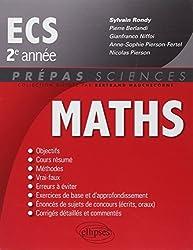 Mathématiques ECS 2ème Année