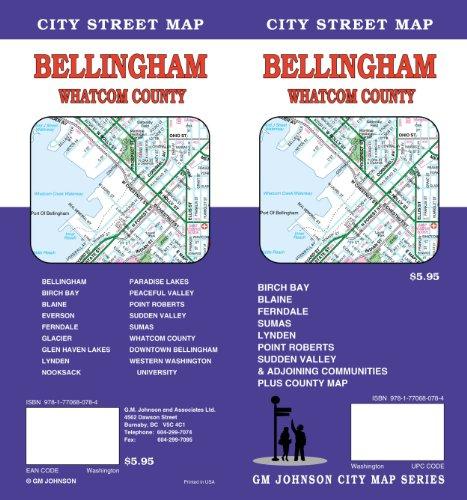 Bellingham/Whatcom County, WA GMJ (Map Of Wa Bellingham)