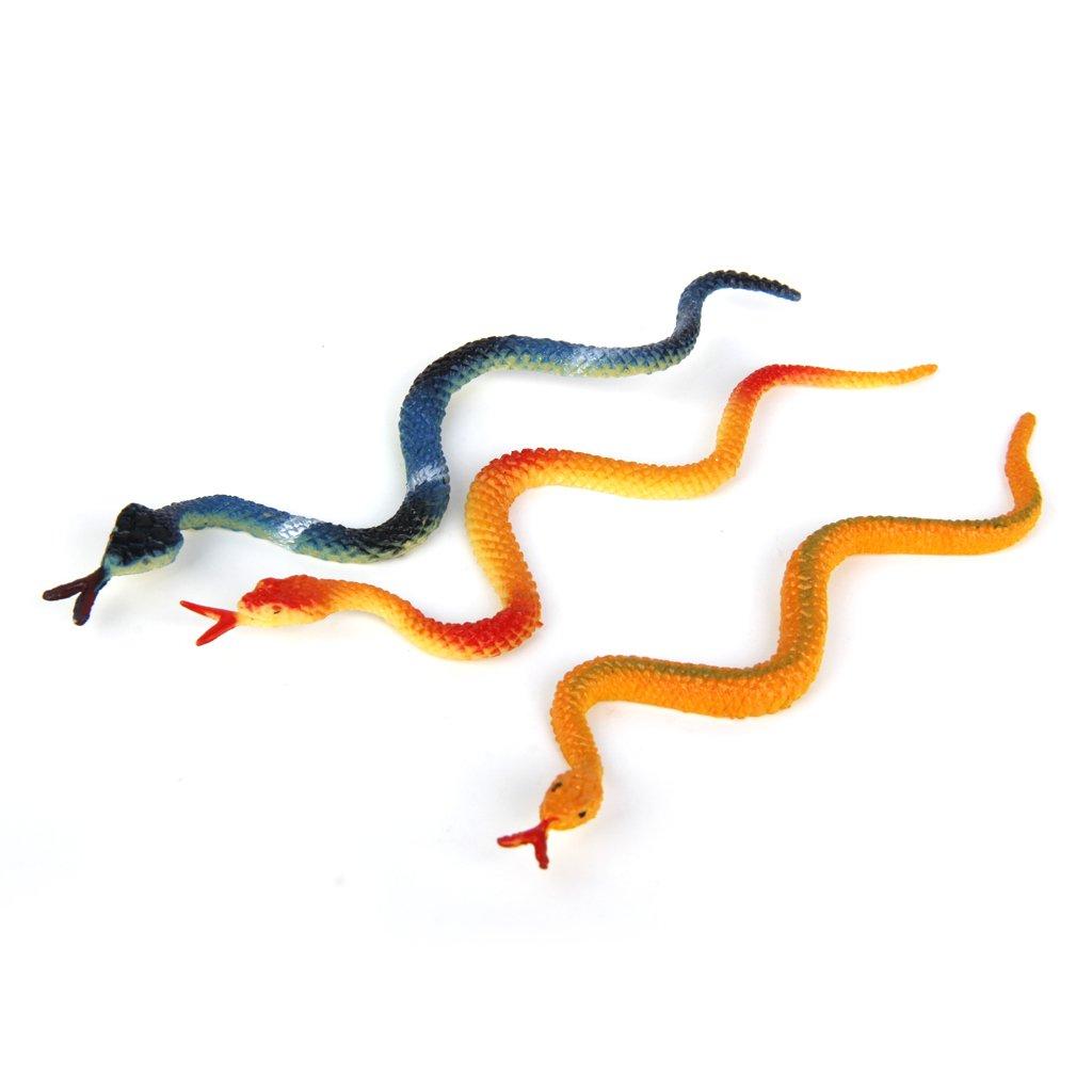 12pcs Juguetes Modelo de Serpientes de Plástico Juguetes Plásticos: Amazon.es: Juguetes y juegos