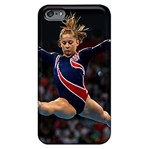 iphone 4 /4s Slim Fit phone carrying case cover Skin Cases Covers For phone Sanp On gymnastics