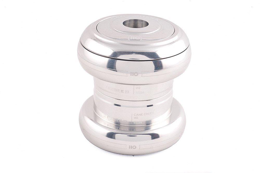 Cane Creek 110-Series External Cup Complete for 34mm Head-Tube (1-1/8-Inch Stem Clamp Diameter) Silver [並行輸入品] B077QFZ9YT