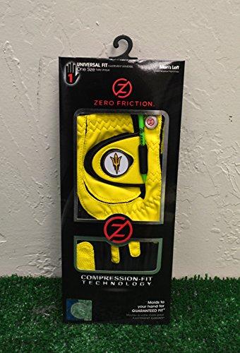 (Zero Friction Men's Left Hand Universal Golf Glove - Arizona State Sun Devils (ASU) -)