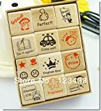 Wooden Stamp Seal Cartoon for Kindergarten Nurse School Teacher Reviews Stationery School Reviews