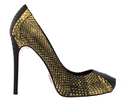 Marabou Femme Gold Talons Schwarz Janiko dYqBd