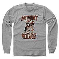 500 LEVEL's Anthony Munoz Long Sleeve Shirt - Vintage Cincinnati Football Fan Gear - Anthony Munoz Serif