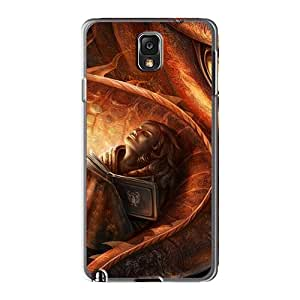Samsung Galaxy Note3 WIL6015JwWh Customized HD How To Train Your Dragon 2 Series Shock-Absorbing Hard Phone Cover -AaronBlanchette