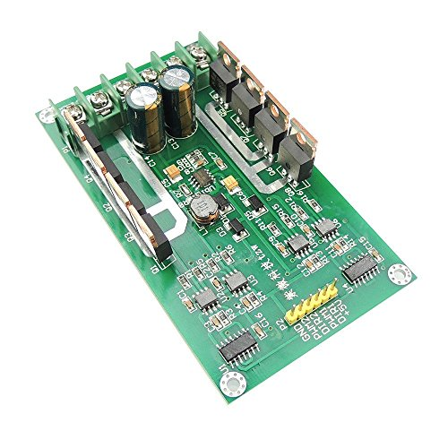 DC Dual Motor Driver PWM Module DC 3~36V 10A Peak 30A IRF3205 High Power Control Board for Arduino Robot Smart Car ()
