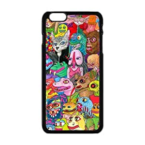 "Danny Store Hardshell Cell Phone Cover Case for New iPhone 6 Plus (5.5""), Crazy Trippy"
