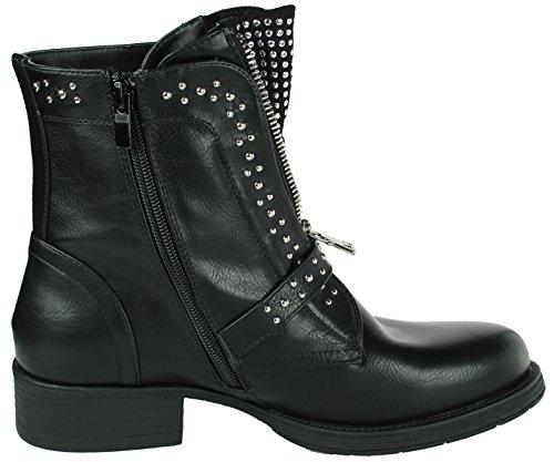 WoMen Black Mevina Mevina Chukka Boots Boots WoMen Black Chukka xXHZwZ