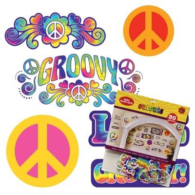 60's Retro Groovy Cutouts-30 Pack for $<!--$14.94-->