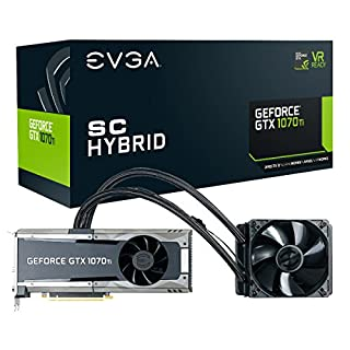 EVGA GeForce GTX 1070 Ti SC HYBRID GAMING, 8GB GDDR5, LED, All-In-One Watercooling with 10CM FAN, DX12 OSD Support (PXOC) Graphics Card 08G-P4-5678-KR (B076X89CWV) | Amazon Products