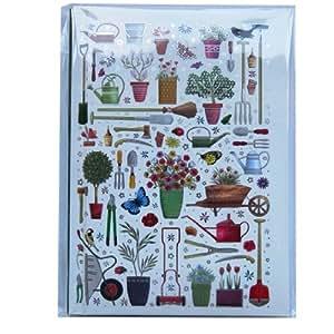 Cuaderno tama o a6 dise o de jardiner a 60 hojas for Paginas de jardineria