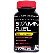 Stamina Fuel - Increase Stamina, Size, Energy, and Endurance and More with Muira Puama, Cayenne and Goat Weed Formula to Maximize physical Performance Endurance all day 90 Caps