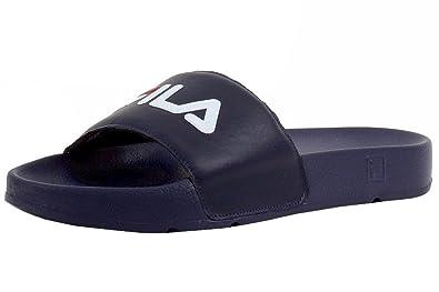Fila Men's Drifter Sport Sandal, White Navy Red, 6 Medium US