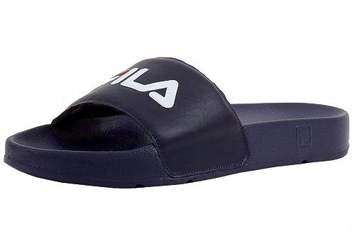 317db280e6fc Fila Men s Drifter Navy Red White Slides Sandals Shoes Sz  7  Buy ...