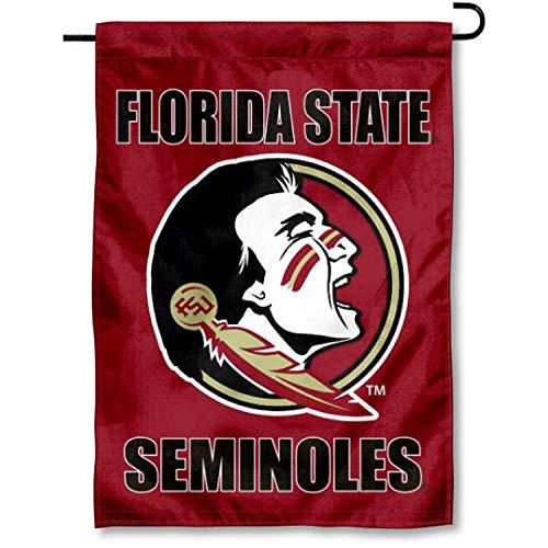 FSU Seminoles Garden Flag and Yard (Florida Garden Flag)
