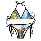Essenza Personal Travel Padded Top Bottom Bikini Swiming Suit Two Piece Suits