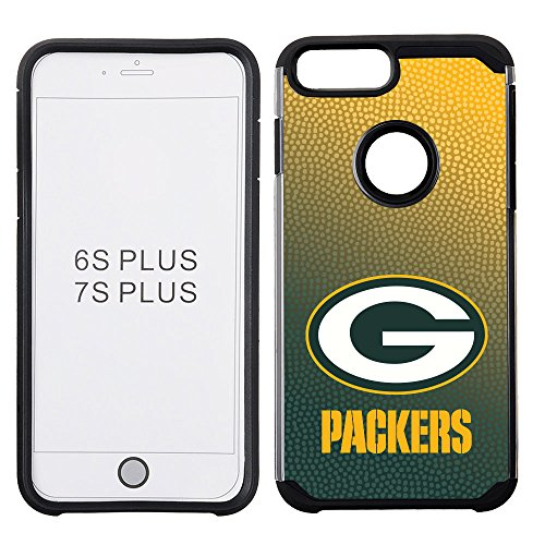 NFL Green Bay Packers Gradient Football Pebble Grain Feel iPhone 7 Plus Case - Nfl Iphone 4 Case