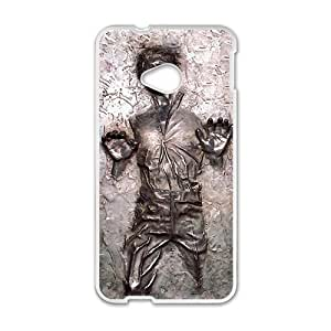 Happy Han Solo Carbonite Cell Phone Case for HTC One M7