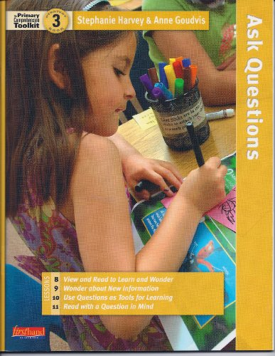 Comprehension Tool Kit - The Primary Comprehension Toolkit: Strategy Book 3 (Lessons 8, 9, 10, 11)