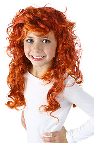 Princess Paradise Forest Princess Wig Costume Accessory, One