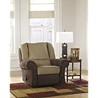 Signature Design by Ashley 4430025 Vandive Recliner, Sand