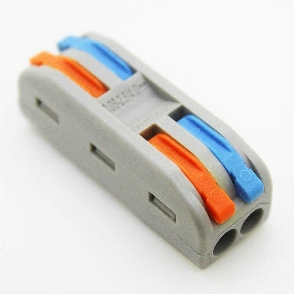 paletur88 Conector de Cable 10pcs Rápido Prensa Tipo Multifunción ...