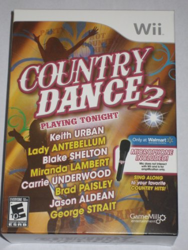 Wii Country Dance 2 (Includes Microphone)