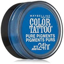 MAYBELLINE COLOR TATTOO PURE PIGMENTS EYE SHADOW #10 BRASH BLUE