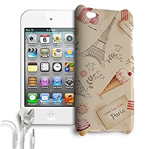 Phone Case For Apple iPod Touch 4G - Love From Paris Wrap-Around Slim