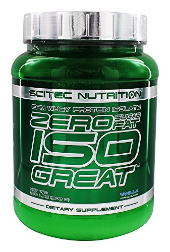 Scitec Nutrition - Zero IsoGreat EFM Whey Protein Isolate Vanilla - 1.98 lbs. by Scitec Nutrition