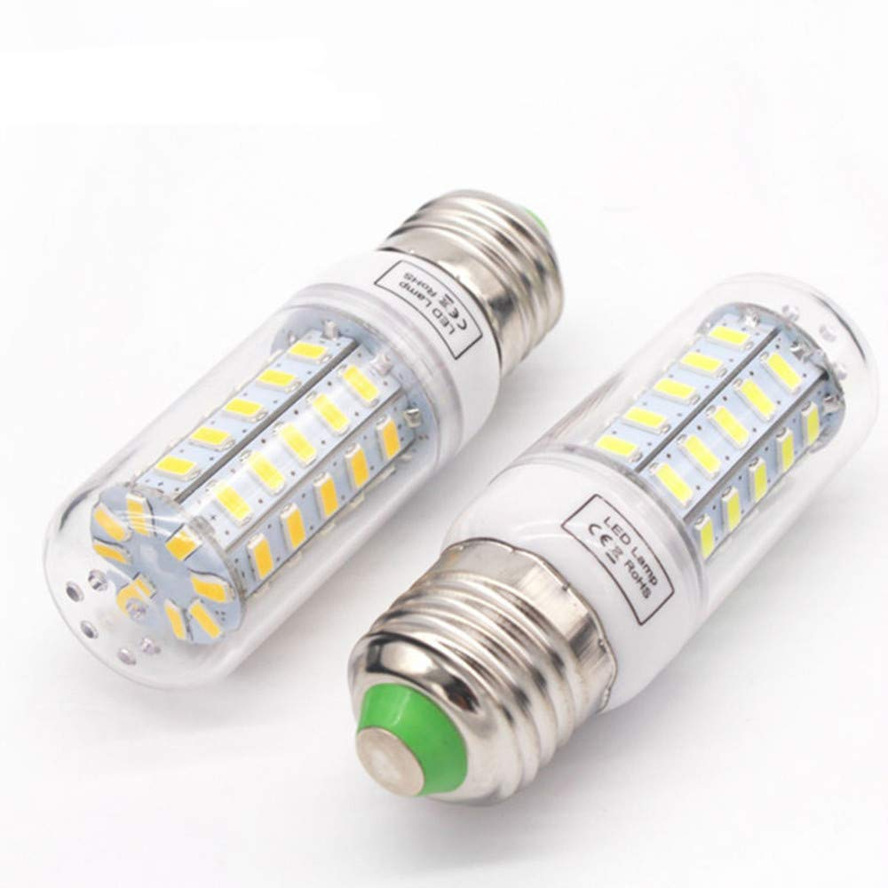 Amazon.com: PSFS 8W Super Bright 48LED Corn Light Bulb for Residential and Commercial Projec E27 800Lm 220-240V (1, Yellow): Garden & Outdoor