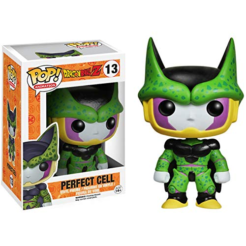 (Funko Perfect Form Cell: Dragonball Z x POP! Animation Vinyl Figure & 1 POP! Compatible PET Plastic Graphical Protector Bundle [#013 / 03992 - B])
