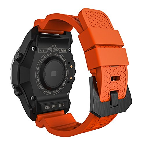 Amazon.com: GPS Smart Watch Men S966 Heart Rate Monitor ...