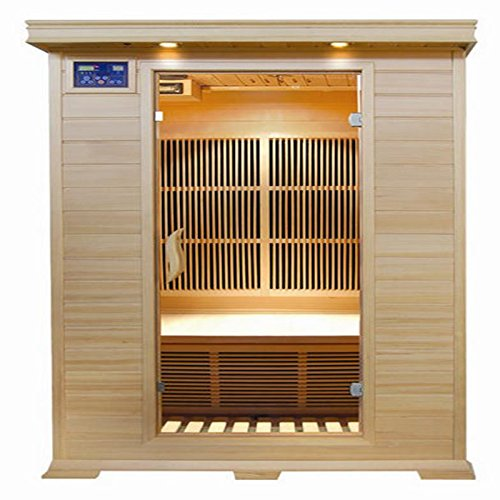 SunRay Evansport 2 Person Infrared Sauna by Sunray
