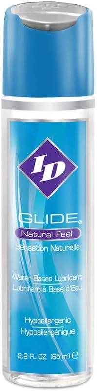 ID Lubricants ID Glide 2.2 FL. OZ. Natural Feel Water-Based Personal Lubricant