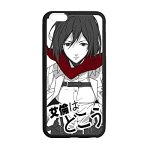 Custom Attack On Titan Design TPU Snap On Case Cover Shell Protector For iphone 6 (4.7 inch)